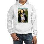 Mona Lisa/Schnauzer (#2) Hooded Sweatshirt