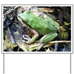 Pacific Chorus Frog Treefrog Yard Sign