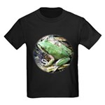 Pacific Chorus Frog Treefrog Kids Dark T-Shirt