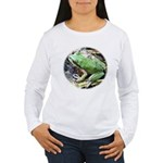 Pacific Chorus Frog Treefrog Women's Long Sleeve T