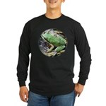 Pacific Chorus Frog Treefrog Long Sleeve Dark T-Sh