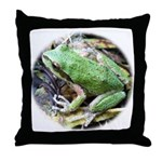 Pacific Chorus Frog Treefrog Throw Pillow