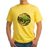 Pacific Chorus Frog Treefrog Yellow T-Shirt