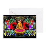 """Buddha Swirl"" - Greeting Card"