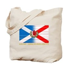 Cute Irish american Tote Bag