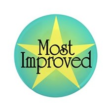 "Most Improved 3.5"" Button"