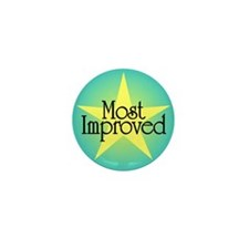 Most Improved Mini Button (100 pack)