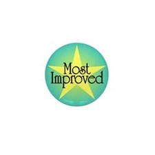 Most Improved Mini Button (10 pack)