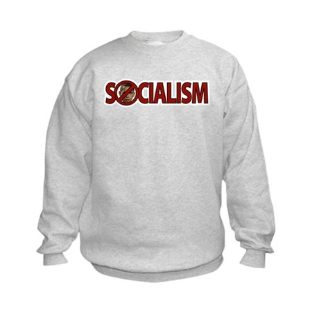 Obama: Socialism Kids Sweatshirt