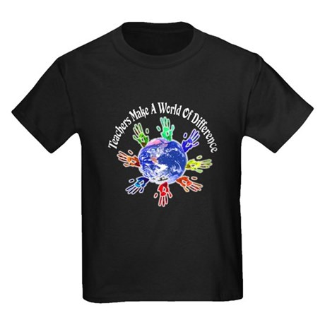 World of Difference Kids Dark T-Shirt