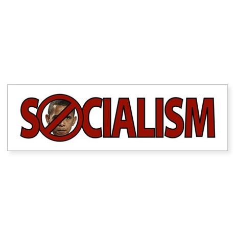 Obama: Socialism Bumper Sticker
