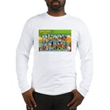 RHODE ISLAND RI Long Sleeve T-Shirt