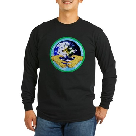Precious Earth Long Sleeve Dark T-Shirt
