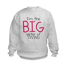 Big Sister (Twins) Sweatshirt