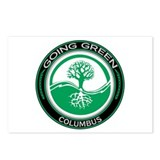 Going Green Columbus Tree Postcards (Package of 8)