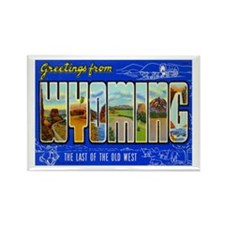 WYOMING WY Rectangle Magnet