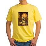 Elizabeth / Min Schnauzer Yellow T-Shirt