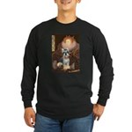 Elizabeth / Min Schnauzer Long Sleeve Dark T-Shirt