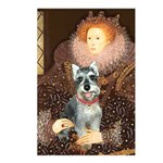 Elizabeth / Min Schnauzer Postcards (Package of 8)