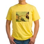 Creation / Schnauzer (#8) Yellow T-Shirt