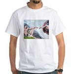 Creation / Schnauzer (#8) White T-Shirt