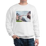 Creation / Schnauzer (#8) Sweatshirt