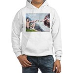 Creation / Schnauzer (#8) Hooded Sweatshirt