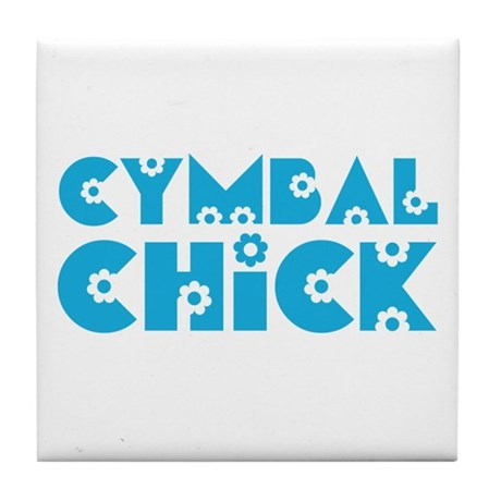 Baritone Chick Tile Coaster