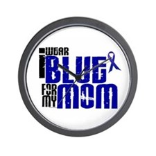 I Wear Blue For My Mom 6 Wall Clock