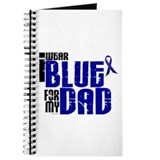 I Wear Blue For My Dad 6 Journal