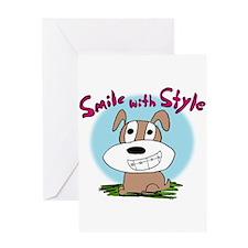 Kendog Braces Greeting Card