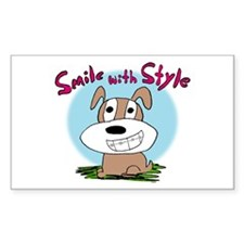Kendog Braces Rectangle Sticker 50 pk)