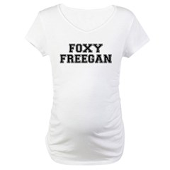Foxy Freegan Maternity T-Shirt
