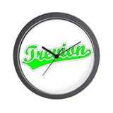 Retro Trevion (Green) Wall Clock