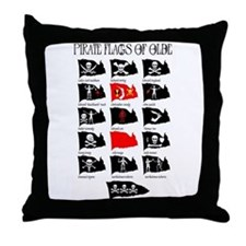 Pirate Flags- Jolly Roger Throw Pillow