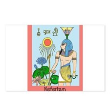 Cute Nefertiti Postcards (Package of 8)