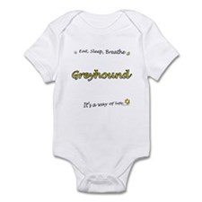 Breathe Yellow Infant Bodysuit