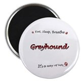 "Breathe Red 2.25"" Magnet (100 pack)"