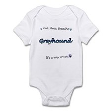 Breathe Blue Infant Bodysuit