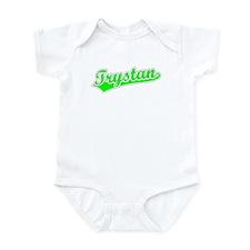 Retro Trystan (Green) Infant Bodysuit