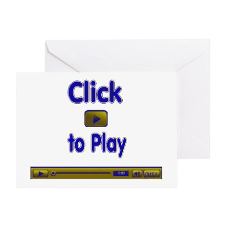 Click to Play Greeting Card