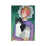 CAT MOM No.3...Magnet-no text (10 pack)