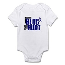 I Wear Blue For My Aunt 6 Infant Bodysuit