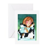 CAT MOM No.5...Purr-fect Day Greeting Card