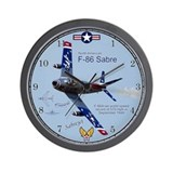 F-86 Sabre Wall Clock