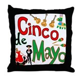 Cinco de Mayo Throw Pillow
