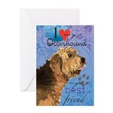 Otterhound Greeting Card