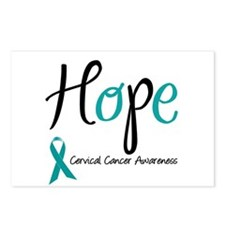 Hope Cervical Cancer Postcards (Package of 8)