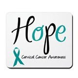 Hope Cervical Cancer Mousepad