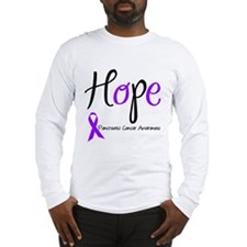 Hope Pancreatic Cancer Long Sleeve T-Shirt